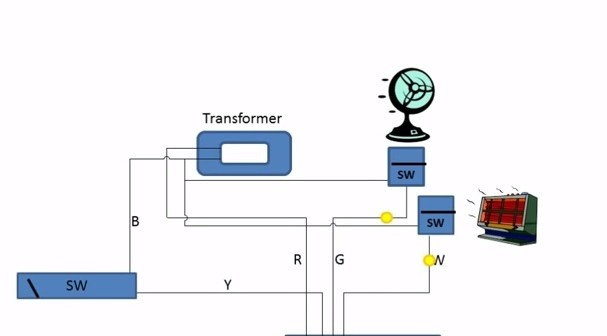 Standard Air Conditioning Wiring Diagrams